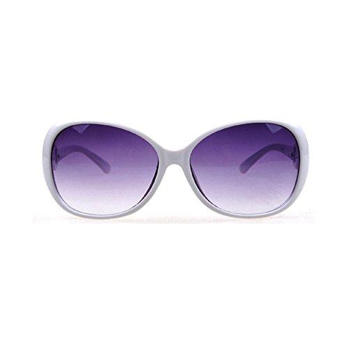 Westeng Frauen polarisierten Sonnenbrillen Dame Brillen mit großem Rahmen UV 400 Schutz für das Fahren/Angeln / Golf,Weiß