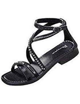 Sandalette von Amy Jones in Schwarz