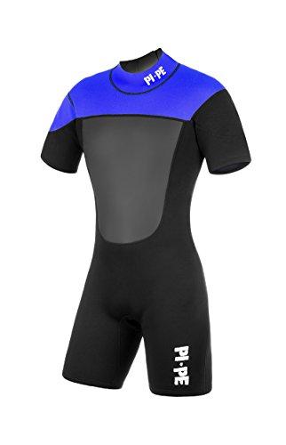 PI-PE Herren Neoprenanzug Active Spring Short Sleeve, Blue, XXL