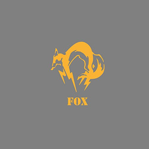 Metal Gear Fox - Stofftasche / Beutel Blau