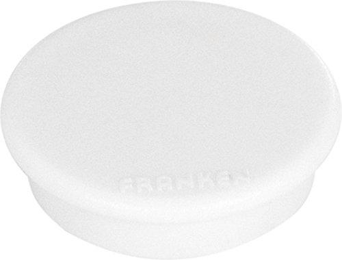 10 x Franken Magnet, 24 mm, 300 g, weiá