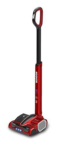 Hoover 39400312 Balai sans fil, 0.8 liters, rouge métallique/noir