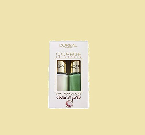L'Oreal Paris 43621 Color Riche Duo Manicure Smalto Unghie - 10 ml