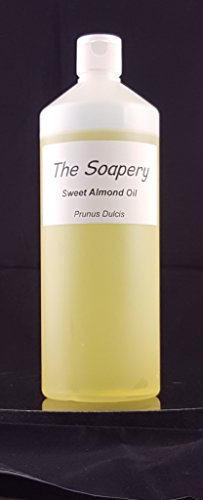 Sweet-Almond-Oil-1-Litre-Cosmetic-Grade-for-Massage-Aromatherapy-Soaps-Lotions-Pure-Carrier-Oil-suitable-for-Scalp-Face-Skin-Eyes-and-Hair-Treatments