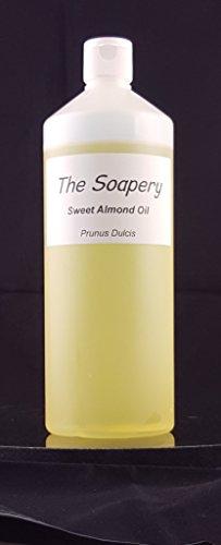 Seifen-lotion-massage-Öl (Mandelöl - 1 liter kosmetische Qualität für Massage, Aromatherapie, Seifen, Lotionen.)