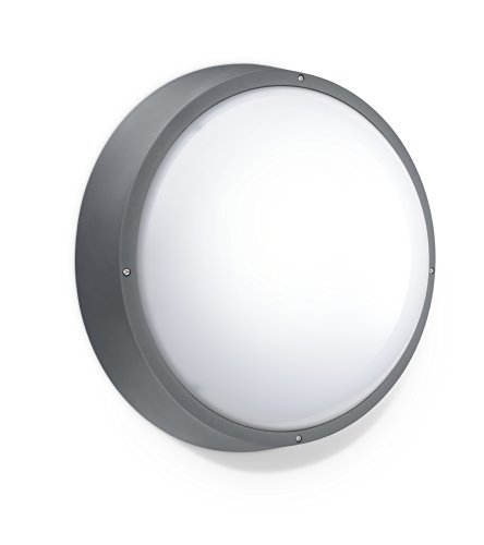 Applique murale philips 06640999 wL120V lED16S/plafonnier/830 3000 k 1600 lM de rechange pour 2 x 26 w, gris, equivalent 81658PH