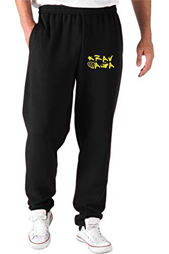T-Shirtshock Pantalones Deportivos Negro TAM0107 Krav