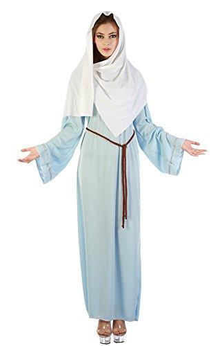 Bristol Novelty AC461 Virgin Mary Costume, White, Size 10-14