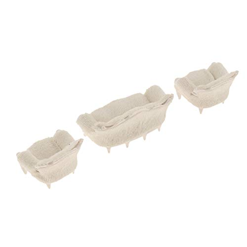 uppenhaus Wohnzimmermöbel Mini Sofa Couch Puppenmöbel ()