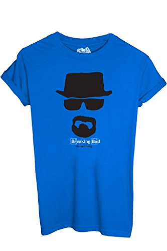 T-Shirt Heisenberg Breaking Bad - Film By Mush Dress Your Style Blau
