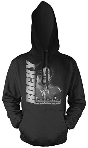 Rocky Männer und Herren Kapuzenpullover | Balboa Boxing Boxen Fight ||| M3 (XL)