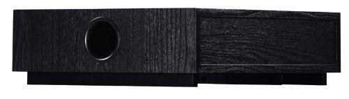 Canton ASF 75 SC aktiver Subwoofer (60/120 Watt) schwarz (Stück) (Kleiner Aktiver Subwoofer)