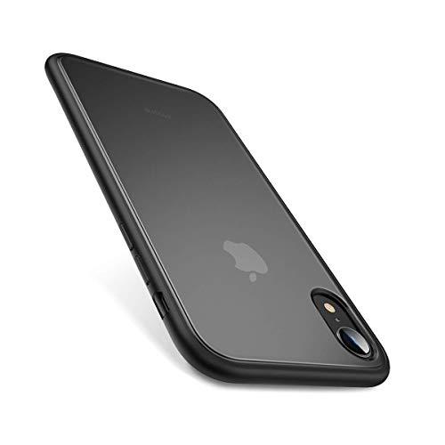 AINOPE kompatibles iPhone xr Hülle, [Military Grade Drop Tested] Hülle iPhone xr mit Stoßstangenpolster innen, Stoßdämpfung durchscheinend matt Handyhülle für iPhone Xr Shockproof Series (2018)