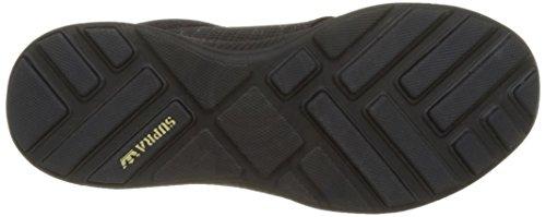 Supra Herren Hammer Run Sneaker Noir (Black-Black)
