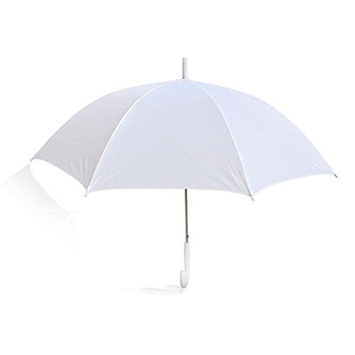 Ombrello bianco sposa diametro 105 cm Impermeabile da pioggia