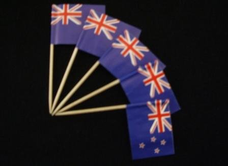 Preisvergleich Produktbild Zahnstocher : Neuseeland 50er Packung