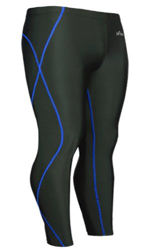 emFraa Men's Skin Tights Compression Base layer Running Pants