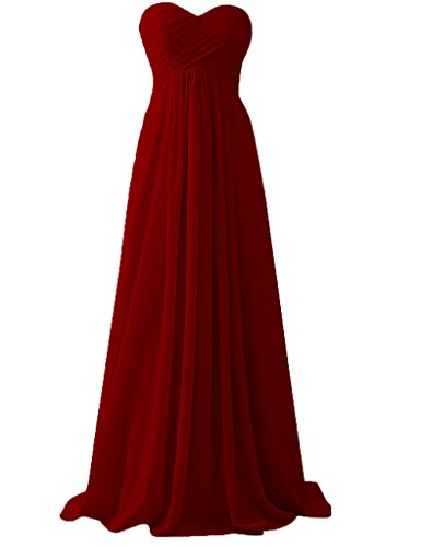 HUINI -  Vestito  - Donna Burgundy