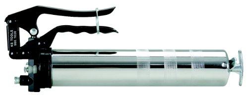 KS Tools 980.1020 Einhand-Fettpresse mit starrem Füllrohr, 350mm