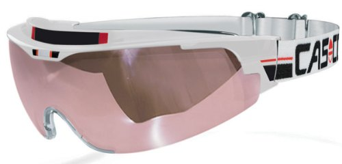 Spirit Vautron, Casco Brille Nordic Spirit competition weiss VAUTRON® 2 automatic - Scheibe, bianco, L/XL