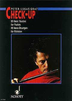 CHECK UP - 20 BASIS UEBUNGEN - arrangiert für Querflöte [Noten / Sheetmusic] Komponist: GRAF PETER LUKAS