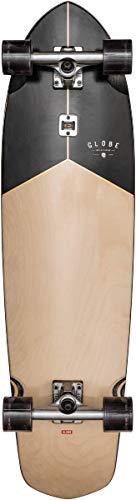 Globe Blazer XL Skateboard/Longboard, Rosewood/Black, 36
