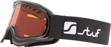 Sport 2000Echo Advance Jr. Occhiali da sci, Unisex, nero, 4,5