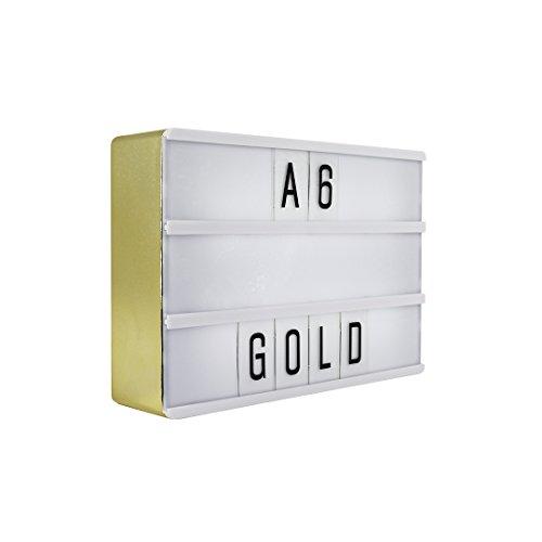 Preisvergleich Produktbild Lightbox gold