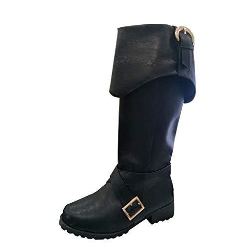 efelKniestiefel RitterMotorradStiefel Knie Hoch Stiefel Lange Stiefel Reiten Stiefel ()