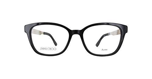 Jimmy Choo Jc160-Qfe-51 Damen Brillengestelle, Schwarz, 51