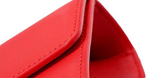 Borse Semplice Mini Pacchetto Tracolla Diagonale Catena Pacchetto Piccolo Quadrato Pacchetto Regali Di Natale Red