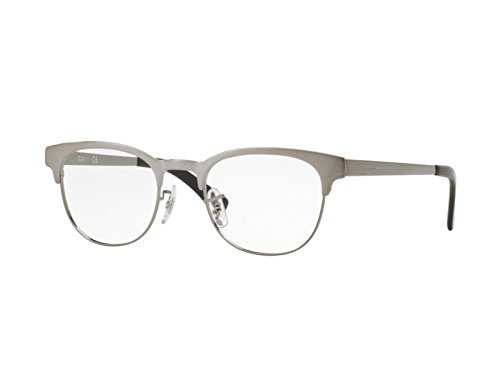 Ray-Ban Unisex-Erwachsene Brillengestell 0rx 6317 2553 51 Grau On Top Brushed Gunmetal