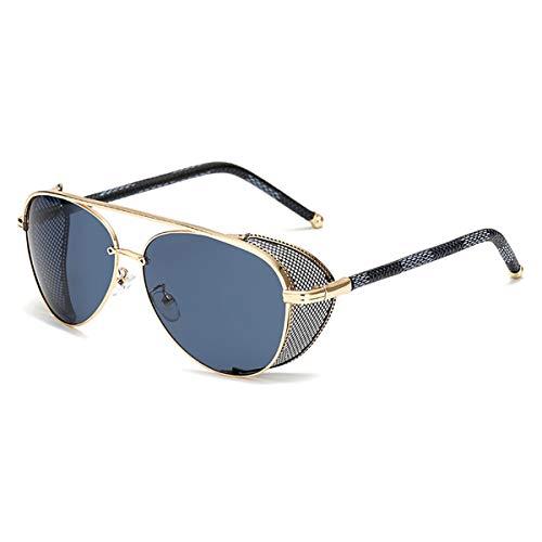 Sport-Sonnenbrillen, Vintage Sonnenbrillen, New Fashion Steampunk Sunglasses Luxury Men Women Mirror Sun Glasses UV400 Vintage Shades Gafas Eyewear 02