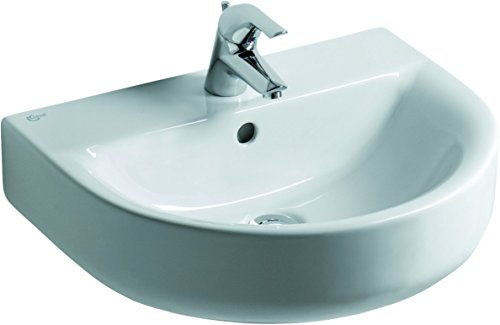 Ideal Standard e713101 Connect Waschbecken Arc 55 x 46 cm weiß