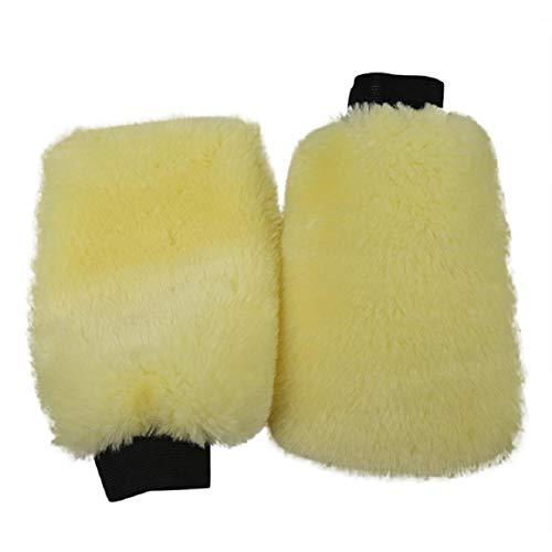 Vaycally Autowaschhandschuhe, Mikrofaser, kratzfrei, Reinigungshandschuh - Autowaschschwamm - Professioneller Waschhandschuh Reinigungsbürste Werkzeuge Handschuhe für das Auto (23,5 * 15 cm)