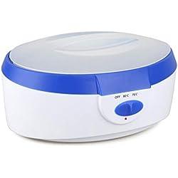 YLMRXL Chauffe ci 2.5 Liters High Capacity Wax Warmer Spa Paraffin Bath Hand Feet for Women Men Painless Electric Wax Warmer Blue/Pink,Blue