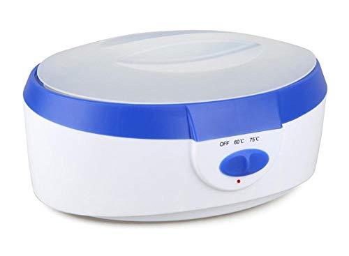 YLMRXL Wachs Heizung 2,5 Liter Hohe Kapazität Wachs wärmer SPA Paraffin Bad Hand Füße für Frauen Männer schmerzlose elektrische Wachs wärmer blau/rosa,Blue -