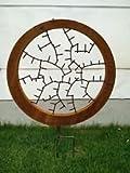 Garteninspiration Glückssymbol Gartenstecker Beetstecker Gartendekoration Statur