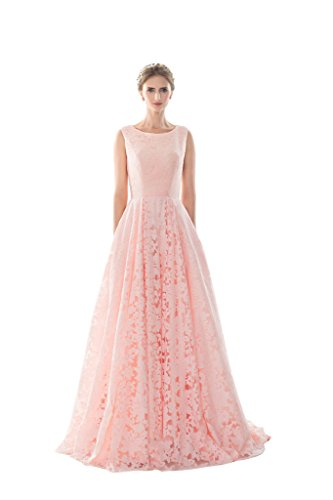 Vimans Damen A-Linie Kleid rosa rose Gr. 38, - Kleider Disney Ball Princess