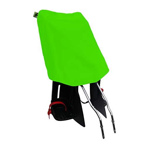 MadeForRain Preiswerter Basis-Regenschutz für Fahrradkindersitz - CityFrog Basic - Apfelgrün
