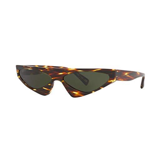Alain mikli occhiali da sole donna 5044 004/71 havana lenti verde irregolare