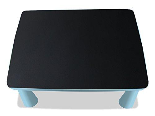 Kreidefolie / Tafelfolie - KF10 - passgenau für den MAMMUT Tisch (eckig) von IKEA - Mit wenigen Handgriffen zum bemalbaren Spieltisch für Kinder! (Möbel nicht inklusive!!!)