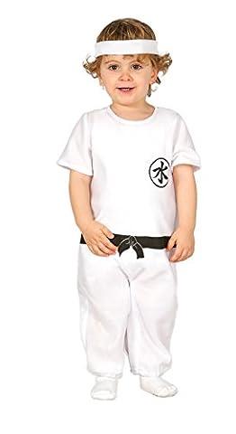 Baby Kung Fu - Karate Kostüm für Kinder Gr. 86 - 98, Größe:92/98