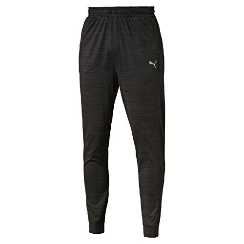 PUMA Herren Hose Rebel-Run Pants, Black Heather, XL