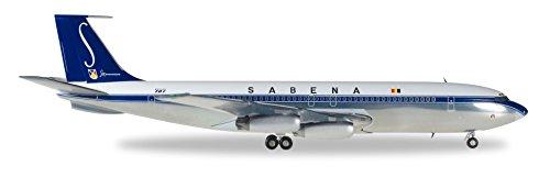 Preisvergleich Produktbild Herpa 558280 - Sabena Boeing 707-320