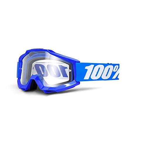 100% ACCURI Brille Reflex - klar Linse, Blau , Größe One Size - Die Hp Factory