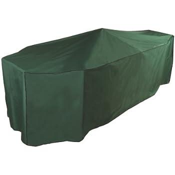 Housse de protection pour salon de jardin rectangulaire - 10 places ...