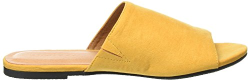 Donna Yellow BIANCO Trend Pantolette Gelb Ciabatte q1xwFtRY