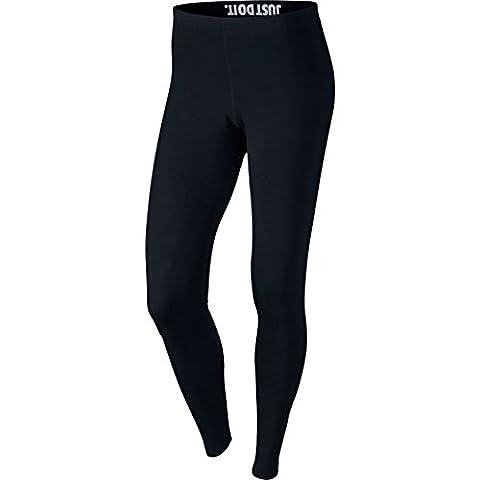 Nike Damen Leggings Leg-A-See, Black/White, XS, 806927-010
