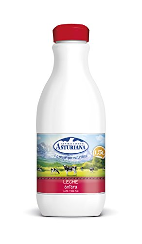 Central Lechera Asturiana - Leche UHT Entera - Botella 1,5 L
